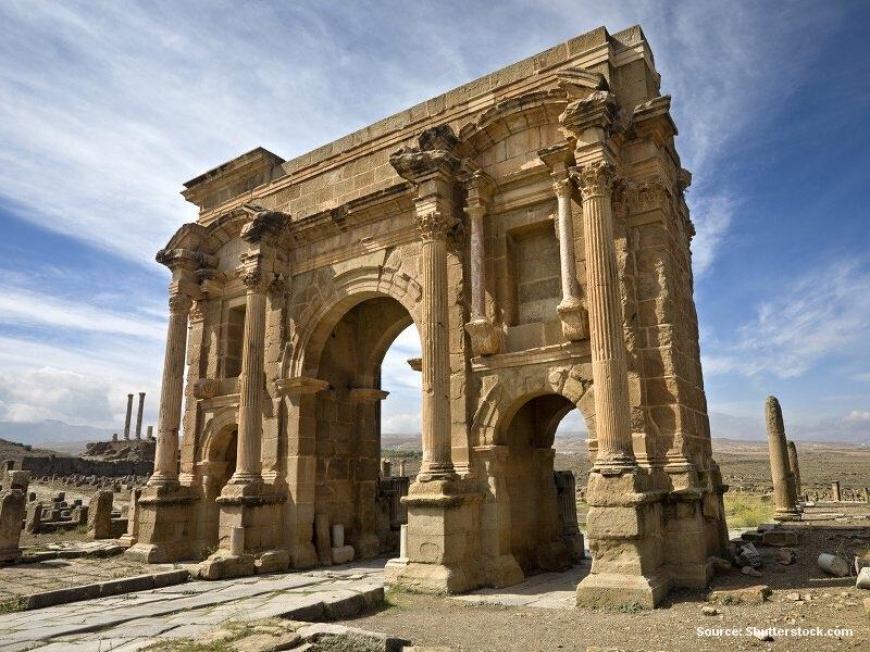 Cesta na východ Alžírska a zpátky