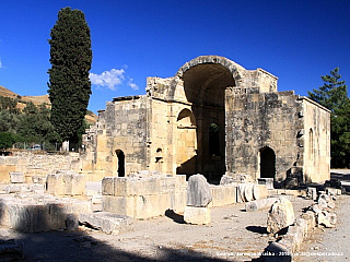 Gortyna - antické archeologické naleziště (Řecko)