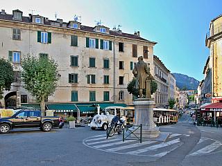 Corte (Korsika - Francie)