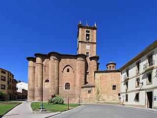 Najera, pohřebiště španělských králů (Španělsko)