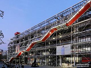 Centrum Georgese Pompidou v Paříži (Francie)