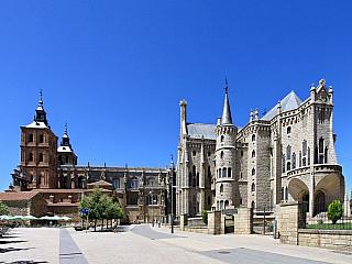 Astorga se pyšní dílem Gaudího (Španělsko)