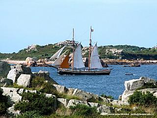 Île de-Bréhat (bretaňsky Enez Vriad) (Francie)