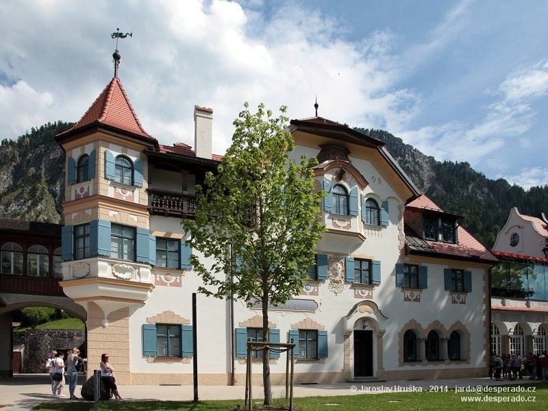 Bavorské městečko Hohenschwangau