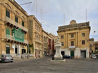 Vittoriosa  - původní metropole Malty (Malta)
