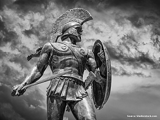 Zápas mezi Římem a Kartágem (Tunisko)