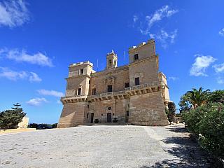 Selmun Palace – poslední stavba maltézských rytířů (Malta)
