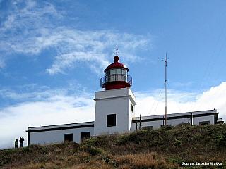 Ponta do Pargo - maják na konci Madeiry (Portugalsko)