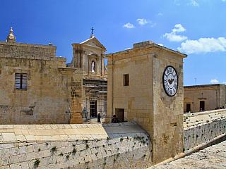 Victoria – hlavní město ostrova Gozo (Malta)