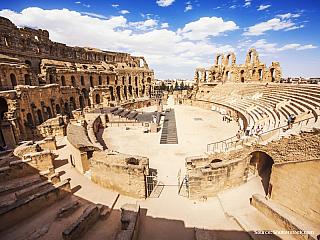 El Jem – římské koloseum v Africe (Tunisko)
