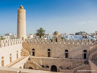 Sousse – starobylá arabská pevnost (Tunisko)