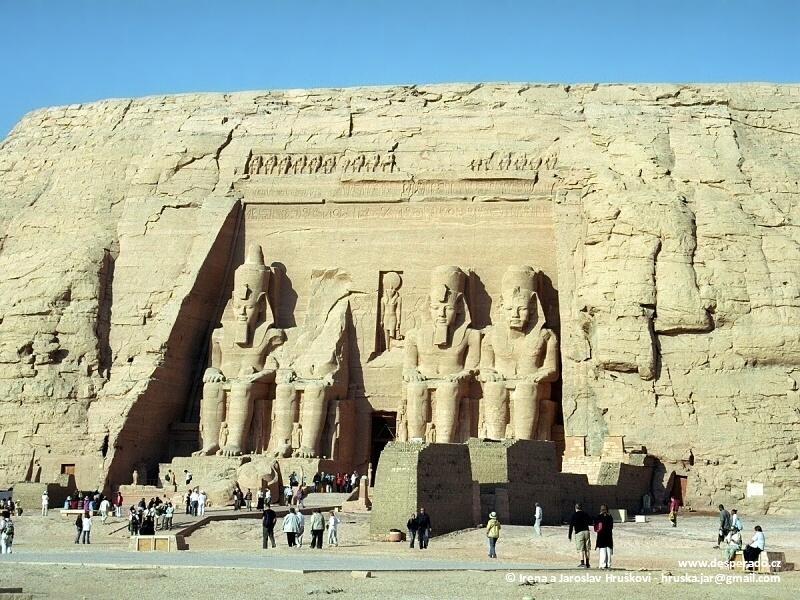 Abu Simbel - perla egyptských chrámů