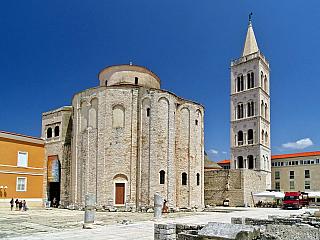 Zadar je pátým největším chorvatským městem (Chorvatsko)
