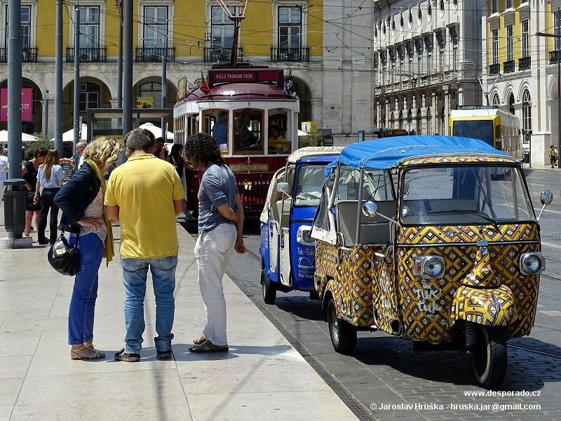 Lisabon, hlavní město Portugalska