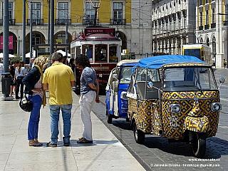 Lisabon, hlavní město Portugalska (Portugalsko)