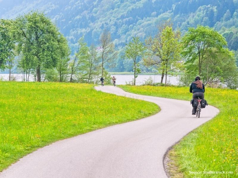 Po skutečných cyklostezkách Rakouskem