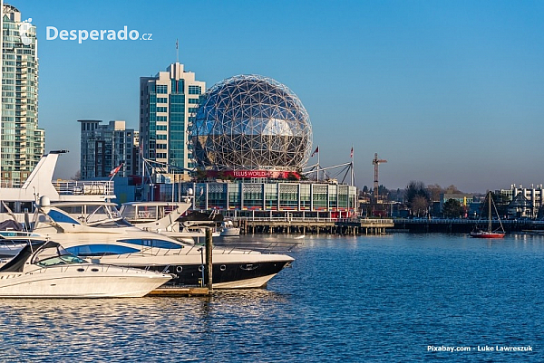 Telus world of science ve Vancouveru (Kanada)
