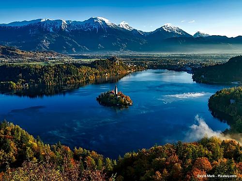 Jezero Bled (Slovinsko)