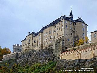 Český Šternberk - kouzelný hrad nedaleko Prahy (Česká republika)