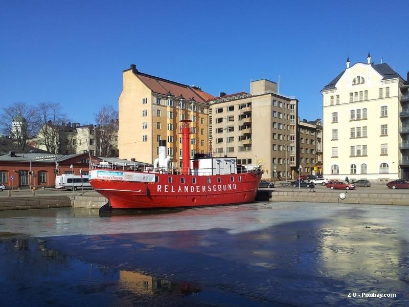 Cesta do Laponska: první zastávka v Helsinkách