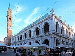 Vicenza, benátské město na seznamu UNESCO (Itálie)