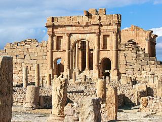 Sbeitla – tuniský odlesk antiky (Tunisko)