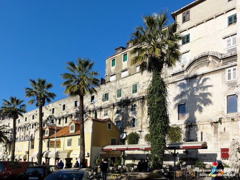 Split - druhé největší město Chorvatska