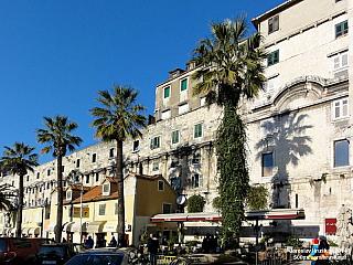 Split - druhé největší město Chorvatska (Chorvatsko)