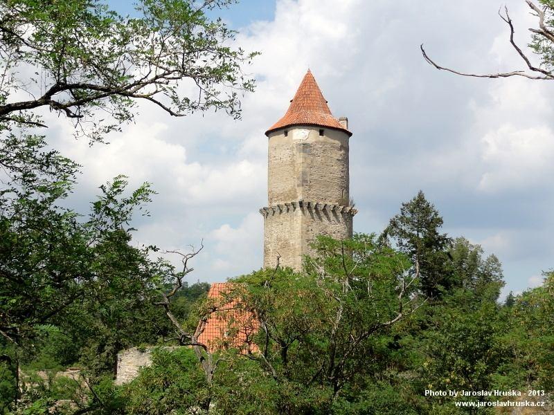 Gotický hrad Zvíkov