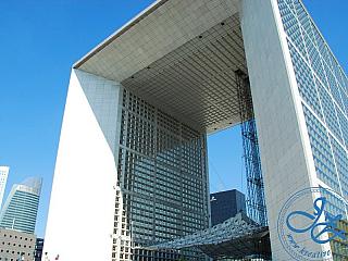 Pařížská čtvrť La Défense (Francie)