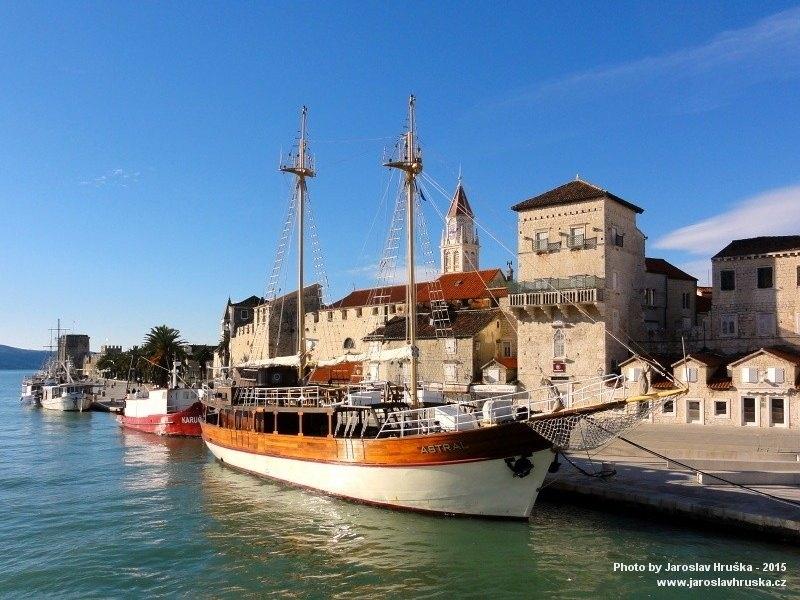 Trogir - chorvatské lázeňské město
