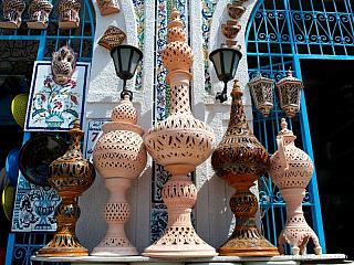 Nabeul – modré město hrnčířů (Tunisko)