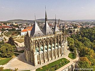 Kutná Hora je slavným historickým městem (Česká republika)