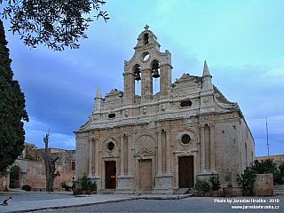 Ortodoxní klášter Moni Arkadiou (Řecko)