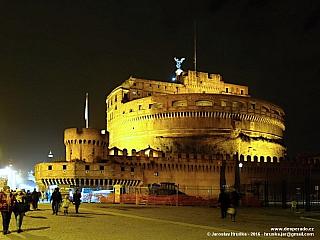 Andělský hrad v Římě (Itálie)