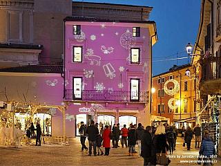 Vánoční Desenzano del Garda (Itálie)