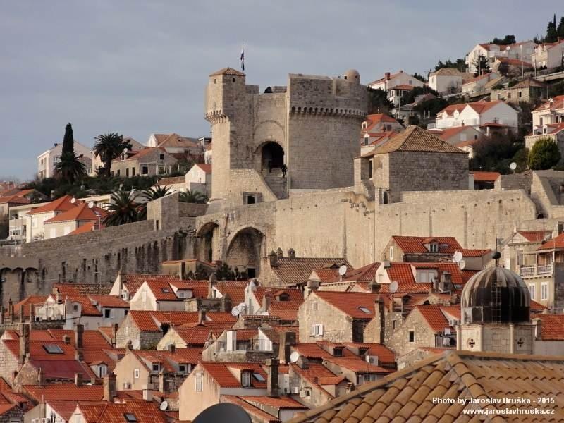 Dubrovník je historickým skvostem Chorvatska