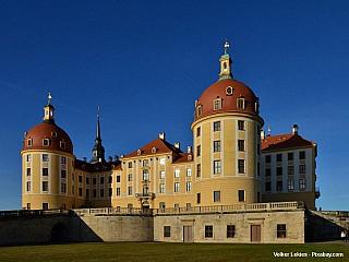 Lovecký zámek Moritzburg (Německo)