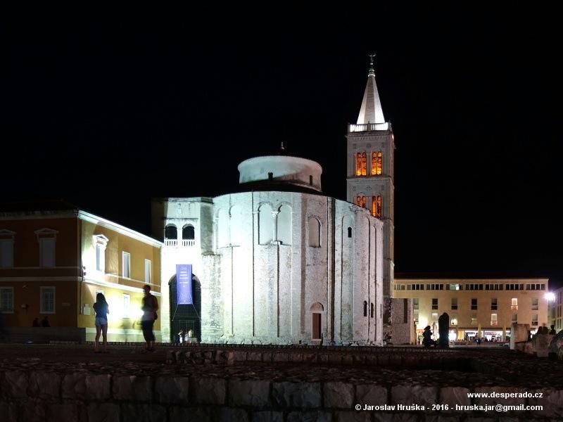 Katedrála svaté Stošije v Zadaru