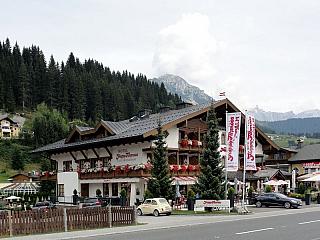 Horská vesnice Filzmoos (Rakousko)