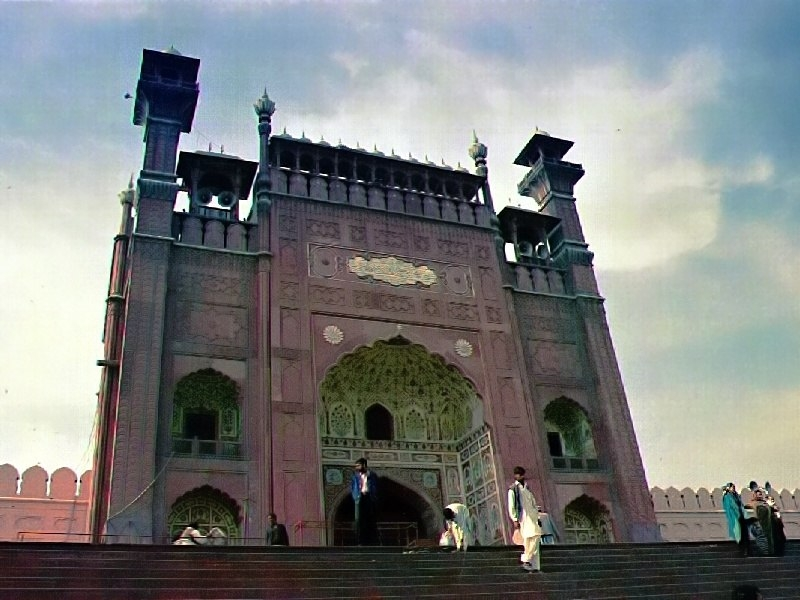 Bádišáhova mešita v pákistánském Láhauru