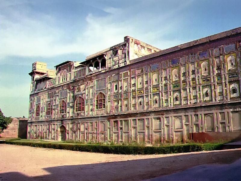 Láhaurská pevnost v pandžábském Láhauru