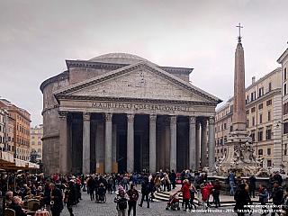 Pantheon v Římě (Itálie)