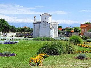 Nin je malé město s bohatou historií (Chorvatsko)