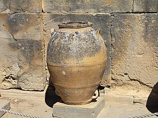 Minojské město Phaistos na Krétě (Řecko)