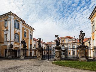 Na zámku v Duchcově úřadoval i světoznámý Casanova (Česká republika)