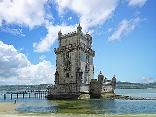 Belémská věž v Lisabonu (Portugalsko)