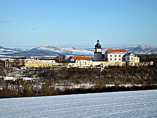 Zámek Nový Hrad v Jimlíně (Česká republika)
