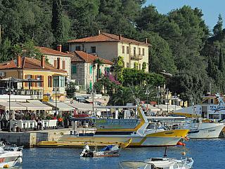 Rabac - původně rybářské městečko na Istrii (Chorvatsko)