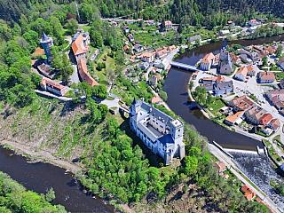Hrad Rožmberk a jeho pestré dějiny (Česká republika)